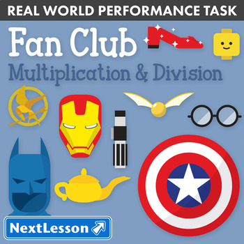 Performance Task – Multiplication & Division – Fan Club: Frozen