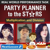 Performance Task – Multiplication & Division – Party Plann