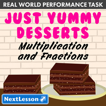 Performance Task – Multiplication & Fractions – Just Yummy