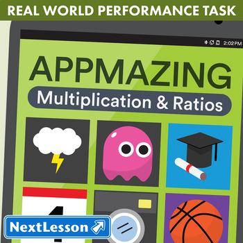 Performance Task – Multiplication & Ratio – App-Mazing: Ac