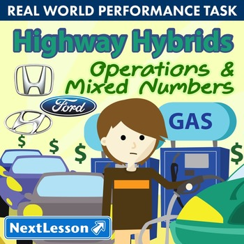 Performance Task – Operations & Mixed Numbers – Highway Hy