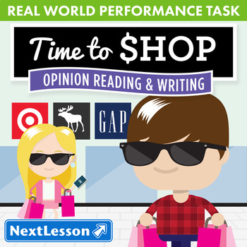 Performance Task – Opinion Reading & Writing – Time to Sho