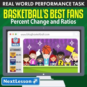 Performance Task – Percent Change & Ratios – Basketball's