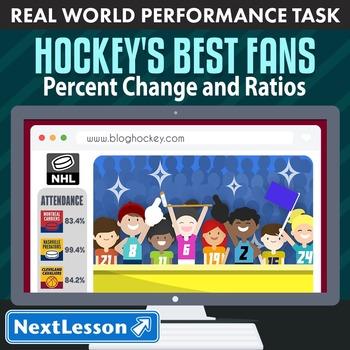 Performance Task – Percent Change & Ratios – Hockey's Best