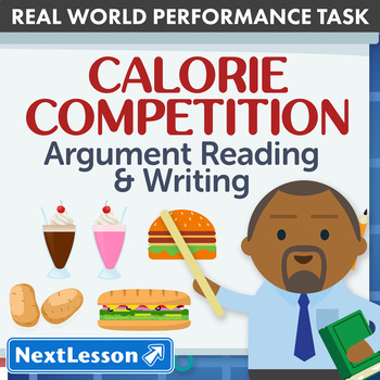 Performance Task – Persuasive Writing – Calorie Competitio