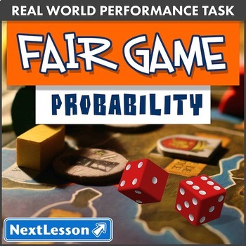 Performance Task – Probability – Fair Game