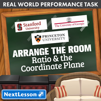 Performance Task – Ratio & The Coordinate Plane – Arrange