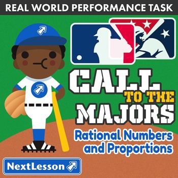 Performance Task – Rational Numbers – Call to the Majors –