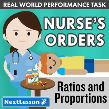 Performance Task – Ratios & Proportions – Nurse's Orders