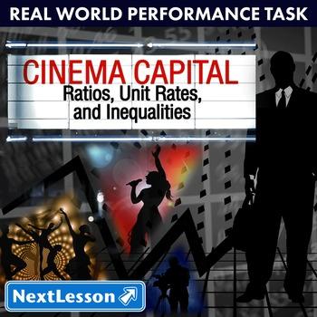 Performance Task – Ratios Unit Rate – Cinema Capital – Stu