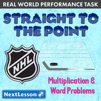 BUNDLE - Performance Tasks - Mult & Word Problems- Straigh