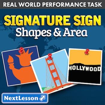 Performance Task - Shapes & Area - Signature Sign: Atlanta