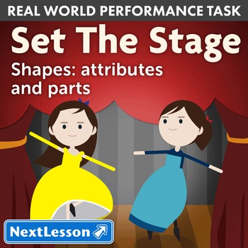 Performance Task - Shapes: attributes and parts - Set the