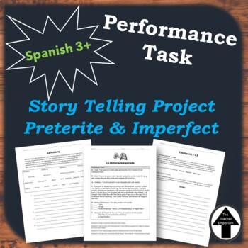 Performance Task Spanish Historia Inesperada Writing Proje
