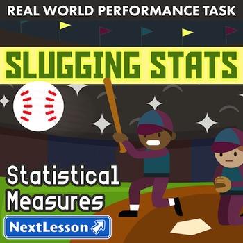 Performance Task - Statistical Measures - Slugging Stats: