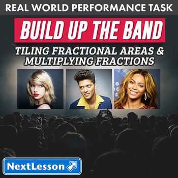 Performance Task - Tiling Fractional Areas & Multiplying -