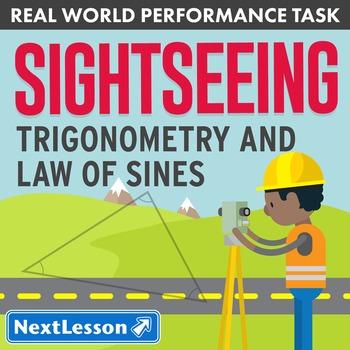 Performance Task – Trigonometry & Law of Sines – Sightseei