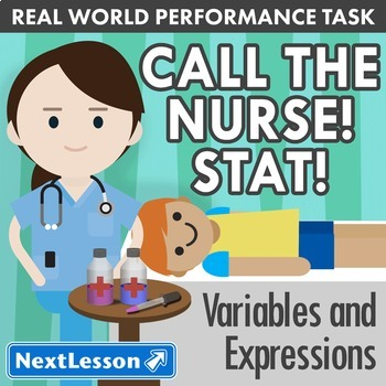 Performance Task – Variables & Expressions – Call the Nurs
