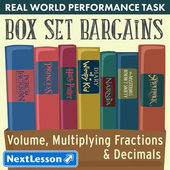 Performance Task – Volume & Multiplying Fractions – Box Se