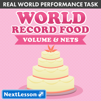 Performance Task – Volume and Nets – World Record Food: Ic