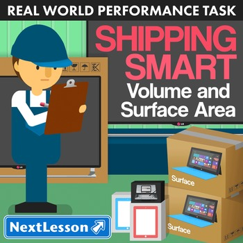 Performance Task – Volume and Surface Area – Shipping Smar