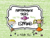 Performance Tasks Bundled {Spring}