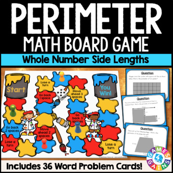 Perimeter Activity: Calculating Perimeter Game