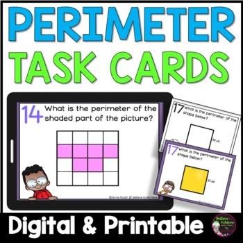 Geometry- Perimeter Task Cards