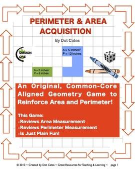 Perimeter & Area Acquisition!  A Common Core Aligned Geome