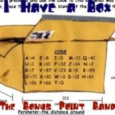 "Perimeter, Area, and Volume Song and a Sheet: ""I Have a Box"""