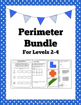 Perimeter Bundle- Activities & Worksheets