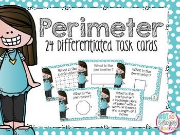 Perimeter Differentiated Task Cards