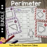 Perimeter Center Games, Task Cards and Printables Bundle