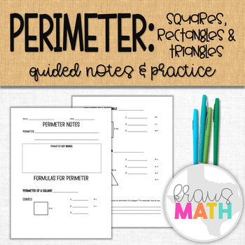 Perimeter: Guided Notes & Practice