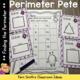 Perimeter Pete - Finding Perimeter Center Games, Task Card