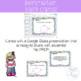 Third Grade Perimeter Task Cards and Google Classroom 3.MD