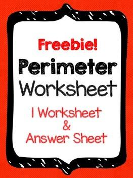 FREE - Perimeter Worksheet