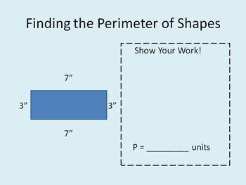 Perimeter and Area PowerPoint