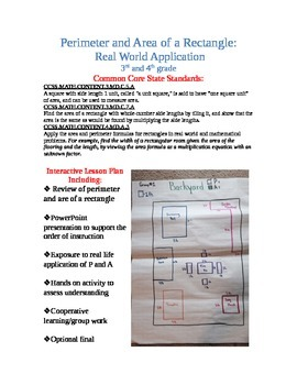 Perimeter and Area of a Rectangle: Real Life Application