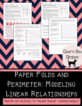 Modeling Linear Relationships Using Perimeter of Folded Paper