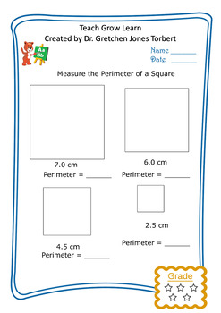 Perimeter of a square 2