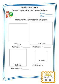 Perimeter of a square 3