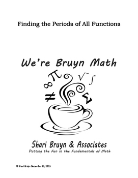 Period - All 6 Trig Functions