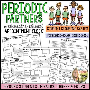 Periodic Partners: A Chemistry Themed Appointment Clock fo