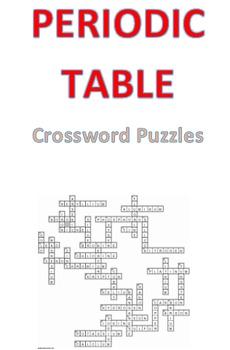 Periodic Table Crossword Puzzles