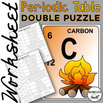 Periodic Table Interactive Cut and Paste Worksheet for Rev