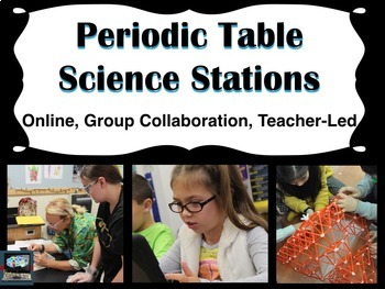 Periodic Table Science Stations (online, group collaborati