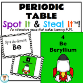 Periodic Table Spot It & Steal It Game