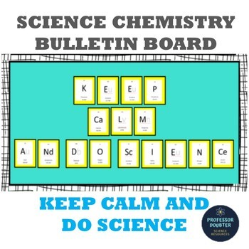 Periodic Table of Elements Science Bulletin Board!! KEEP C