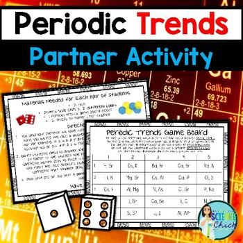 Periodic Trends Partner Activity